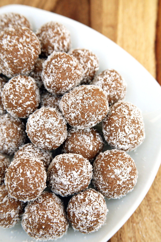 Chocolate Coconut Protein Balls Popsugar Fitness Protein Idealprotein Proteinfoods In 2020 Chocolate Protein Balls Protein Balls Healthy Protein Balls Recipes