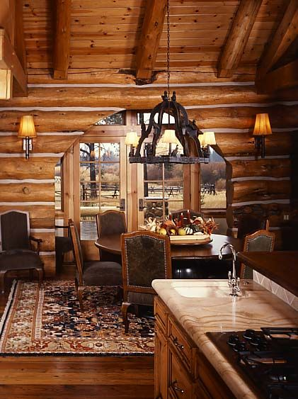 Practical Lighting Tips For Log Homes The Love Of