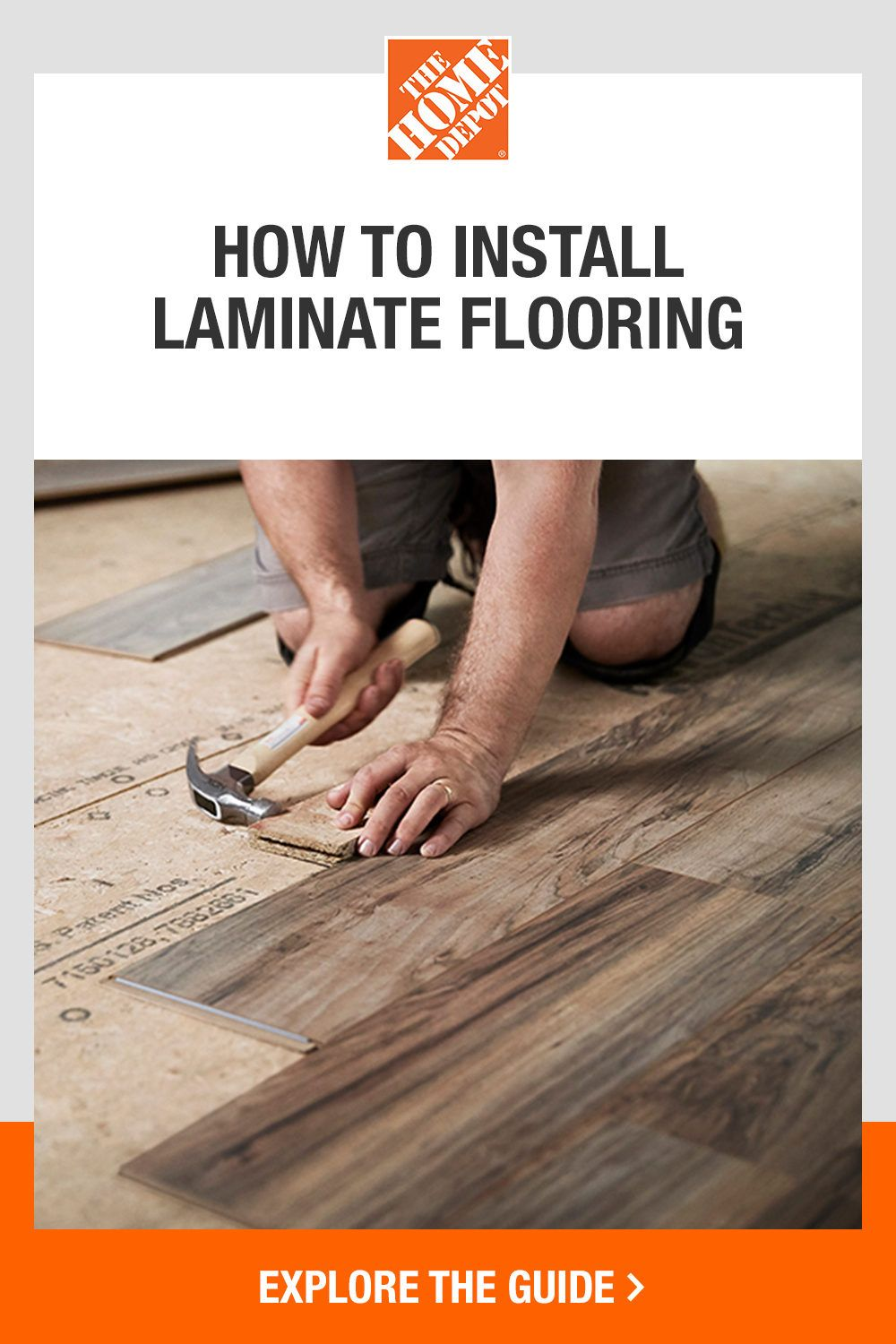 Now is the time to refresh your floors with The Home Depot. Laminate flooringis an ideal project for DIYers and can instantly help upgrade your home. Because glue, grout or mortar are not involved, installation is a quick and relatively trouble-free process. From cutting the laminate floors to how to lay them, click The Home Depot guide to learn all the basics.