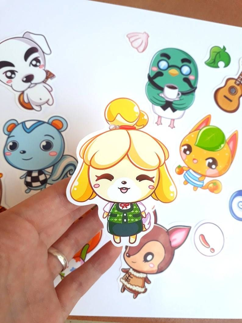Animal Crossing Villager Stickers made by Noemi -