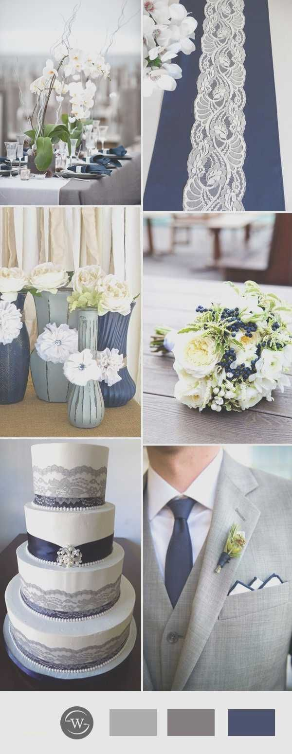 Unique Navy Blue and Silver Wedding Decorations | Silver wedding ...