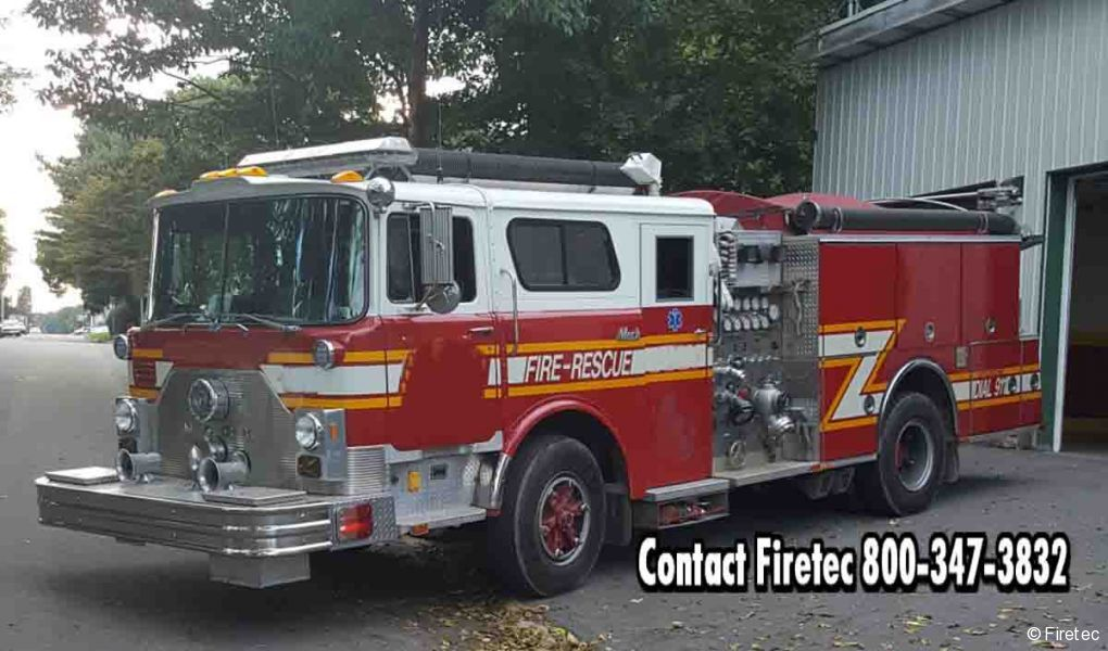 Used Fire Trucks For Sale >> Used Fire Truck 1986 Mack Cf 686fc For Sale At Firetec Used