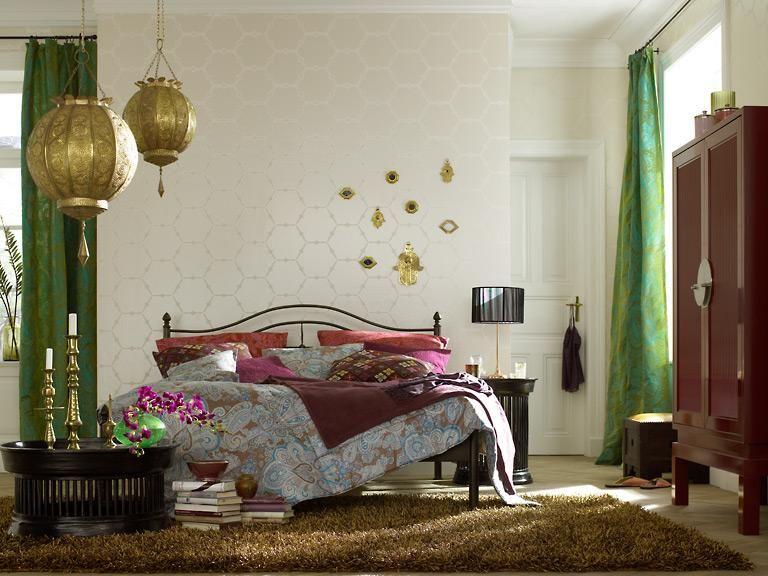Orientalisches schlafzimmer ~ Orientalischer einrichtungsstil materialien muster und farben