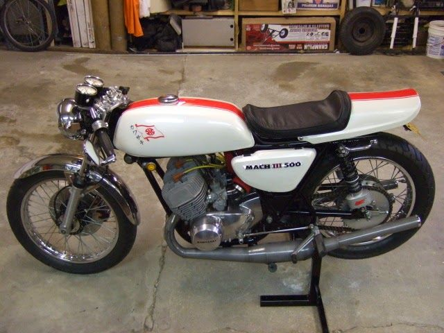 Kawasaki triple 500