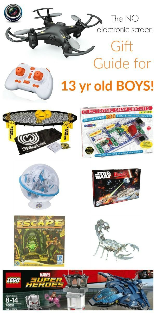Gift Guide For 13 Year Old Boys Making Life Blissful 13 Year Old Boys 13 Year Old Christmas Gifts Activities For Boys