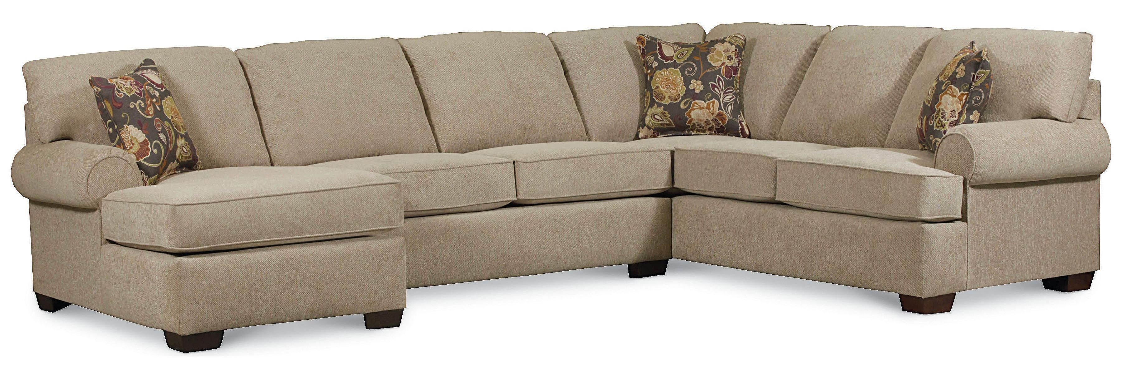 Exceptionnel Vivian Transitional 3 Piece Sectional Sofa By Lane