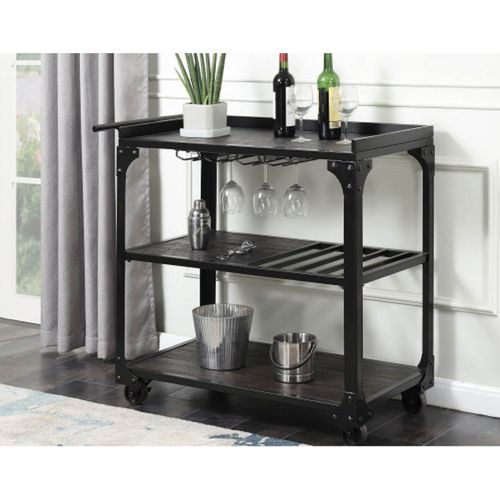 Serena Bar Cart with Casters in 2018 kitchen Pinterest Bar