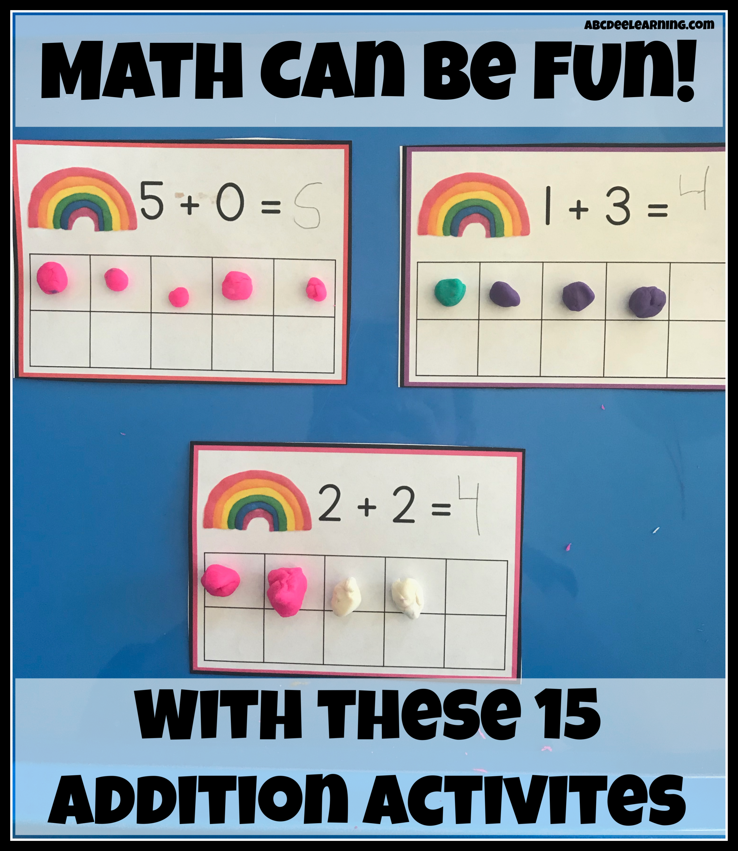 Practicing Addition Can Be Fun With My 15 Activities For