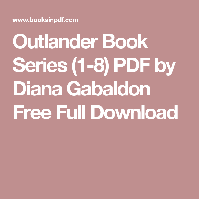 outlander full book download