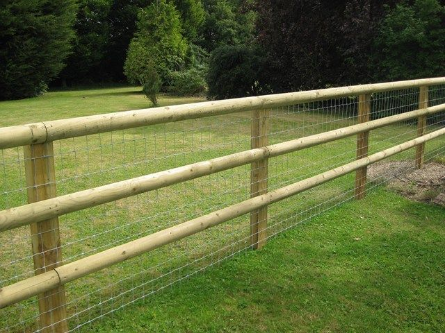 Gillies Fencing : Post & Rail Fencing | Horse fencing | Pinterest ...