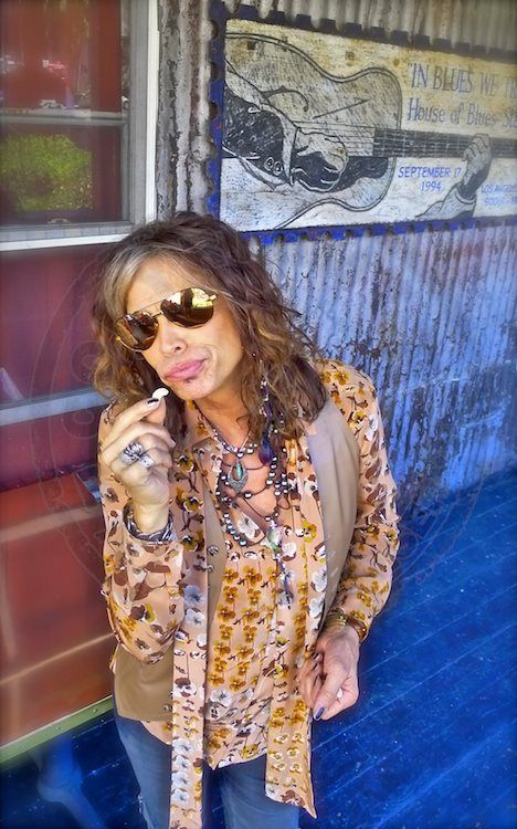 Steven Tyler Lead Singer For Aerosmith One Half Of The
