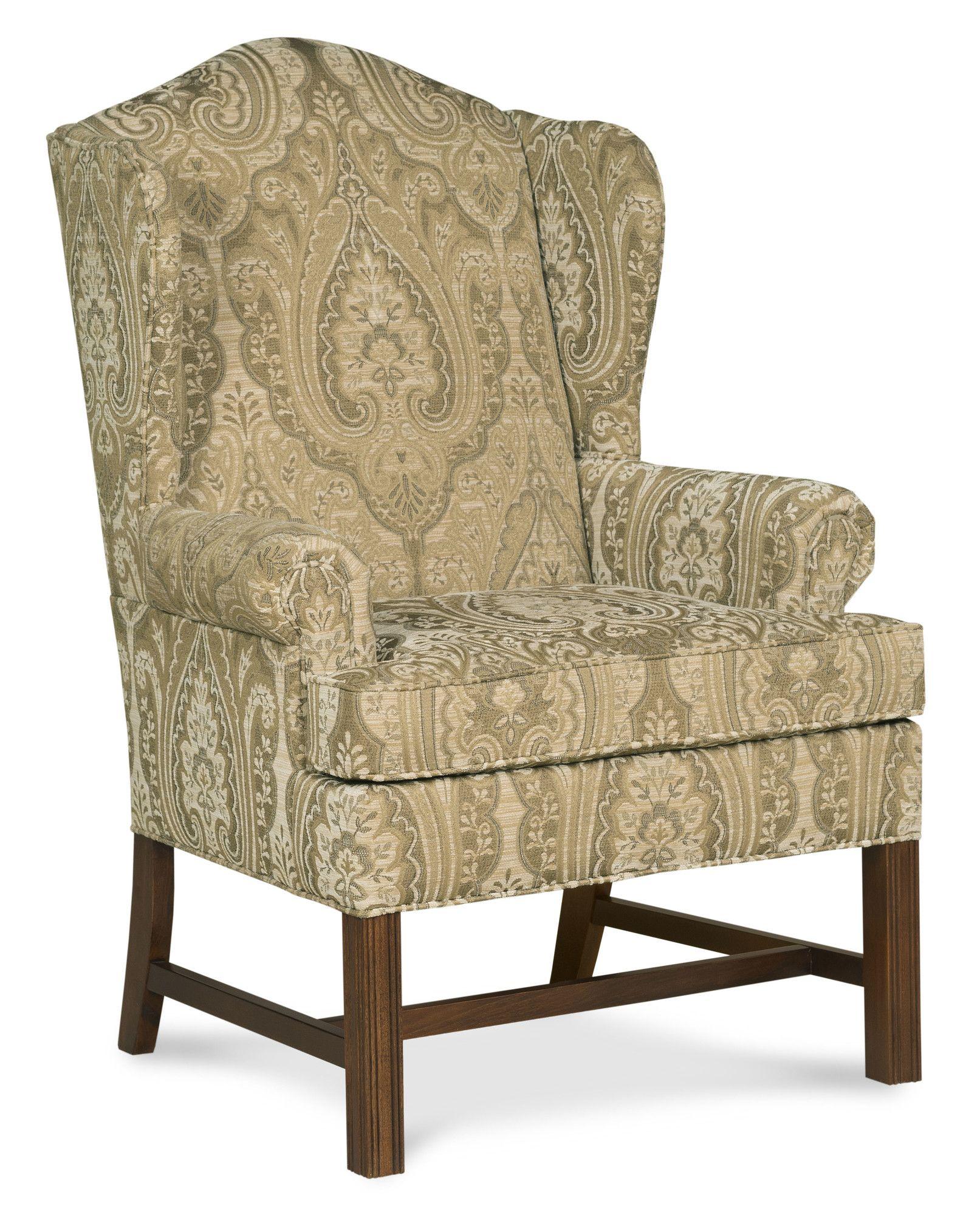 Fairfield Chair Chippendale Wingback Chair U0026 Reviews | Wayfair