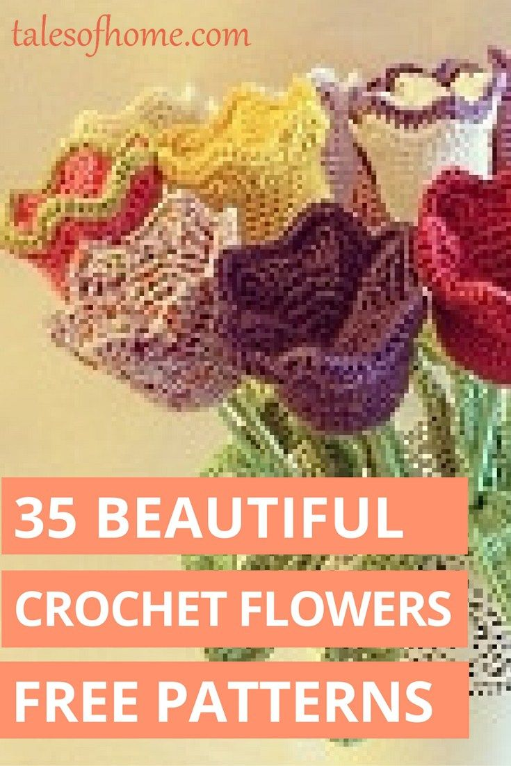 35 free crocheted flower patterns free crochet flower patterns 35 free crochet flower patterns that add whimsy and beauty to your life but are inexpensive bankloansurffo Image collections