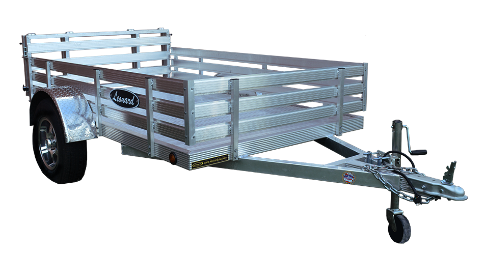 Aluminum Utility Trailers Leonard Buildings Truck Accessories Aluminum Utility Trailer Utility Trailer Truck Accessories