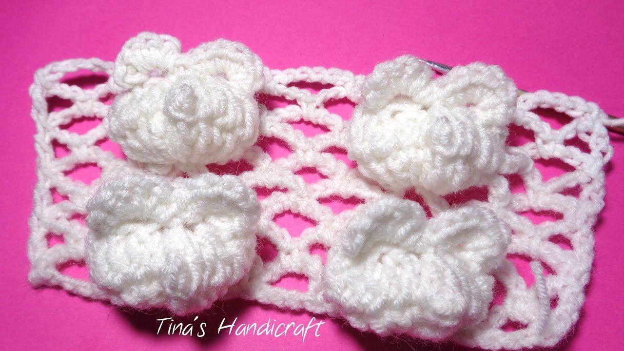3D crochet bear in relief   elişi   Pinterest   Crochet bear, 3d and ...