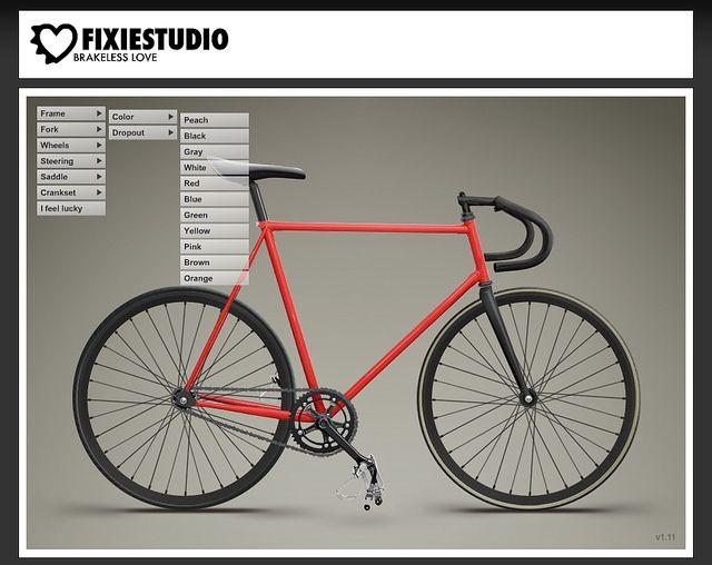 Fixiestudio Com Build Your Own Bike Bike Build Your Own