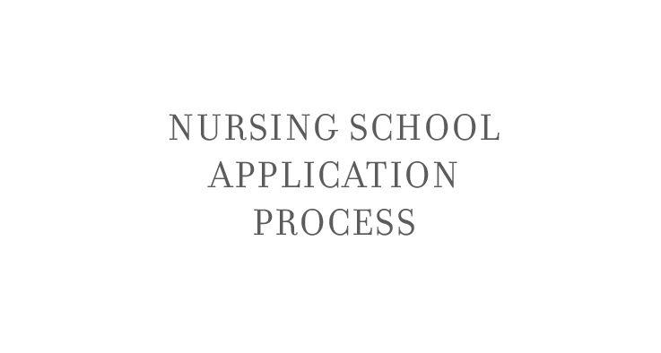 The Nursing School Application Process https://www.youtube