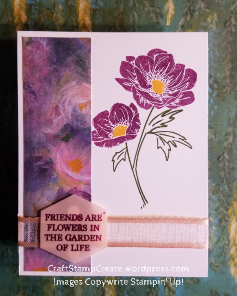 Simplestamping Step Up With Perennial Essence Simple Card Designs Perennials Daisy Cards