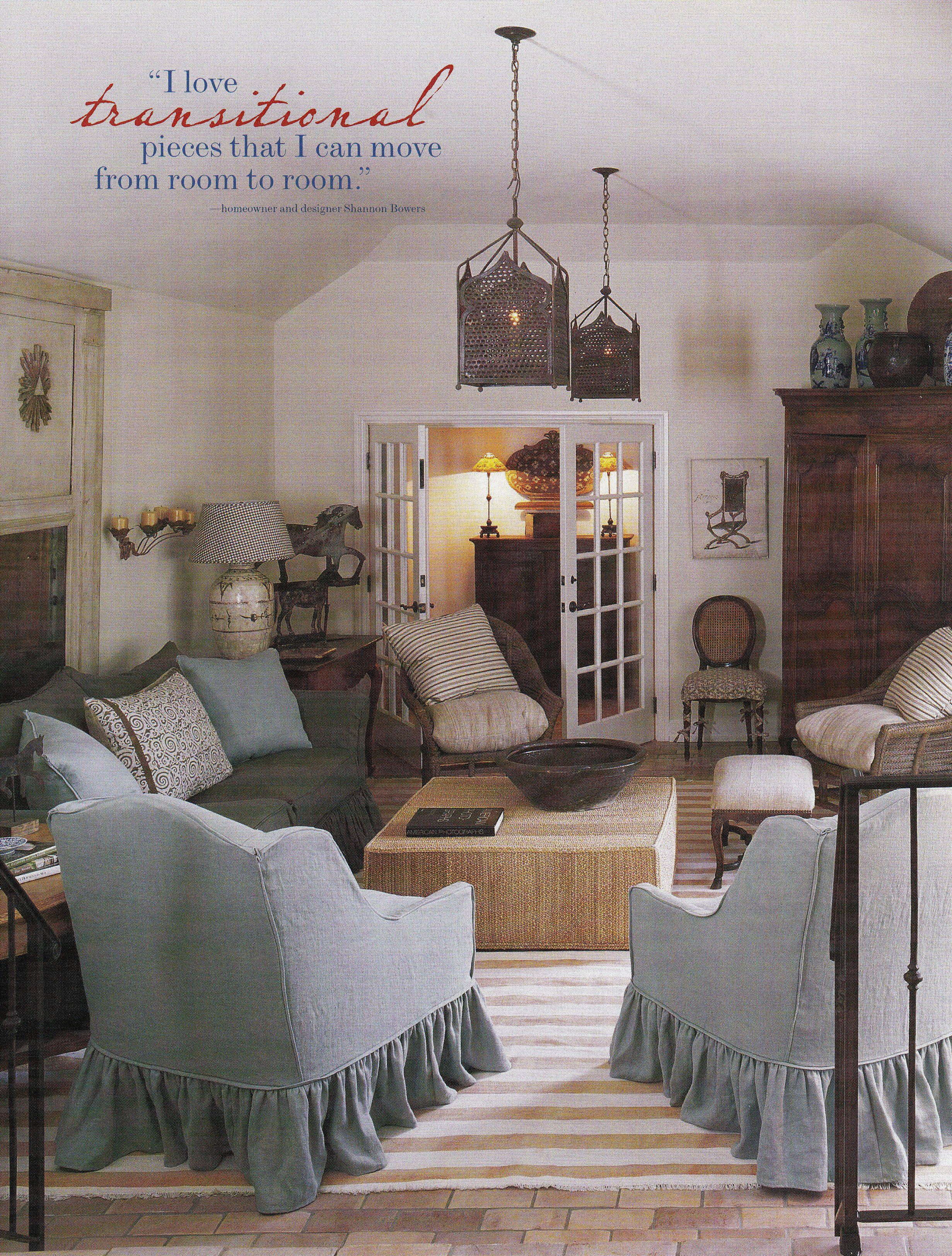 Interior Designer Shannon Bowers Dallas Home Modern Room House
