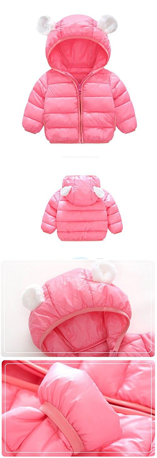 b87bb539f Infant and Toddler Baby Boys Girls Winter Warm Cotton Puffer Cartoon ...