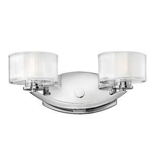 Hinkley Lighting Meridian 2 Light Vanity Light