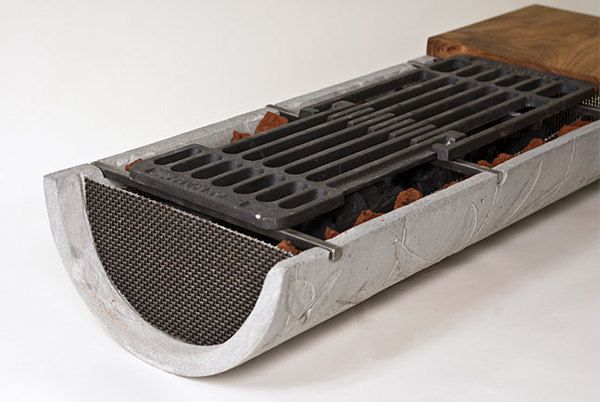 How To Build A Tabletop Hibachi Grill From Concrete Diy Grill