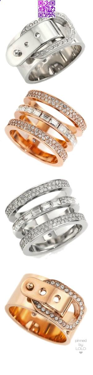 Michael Kors Assorted Rings | LOLO❤︎