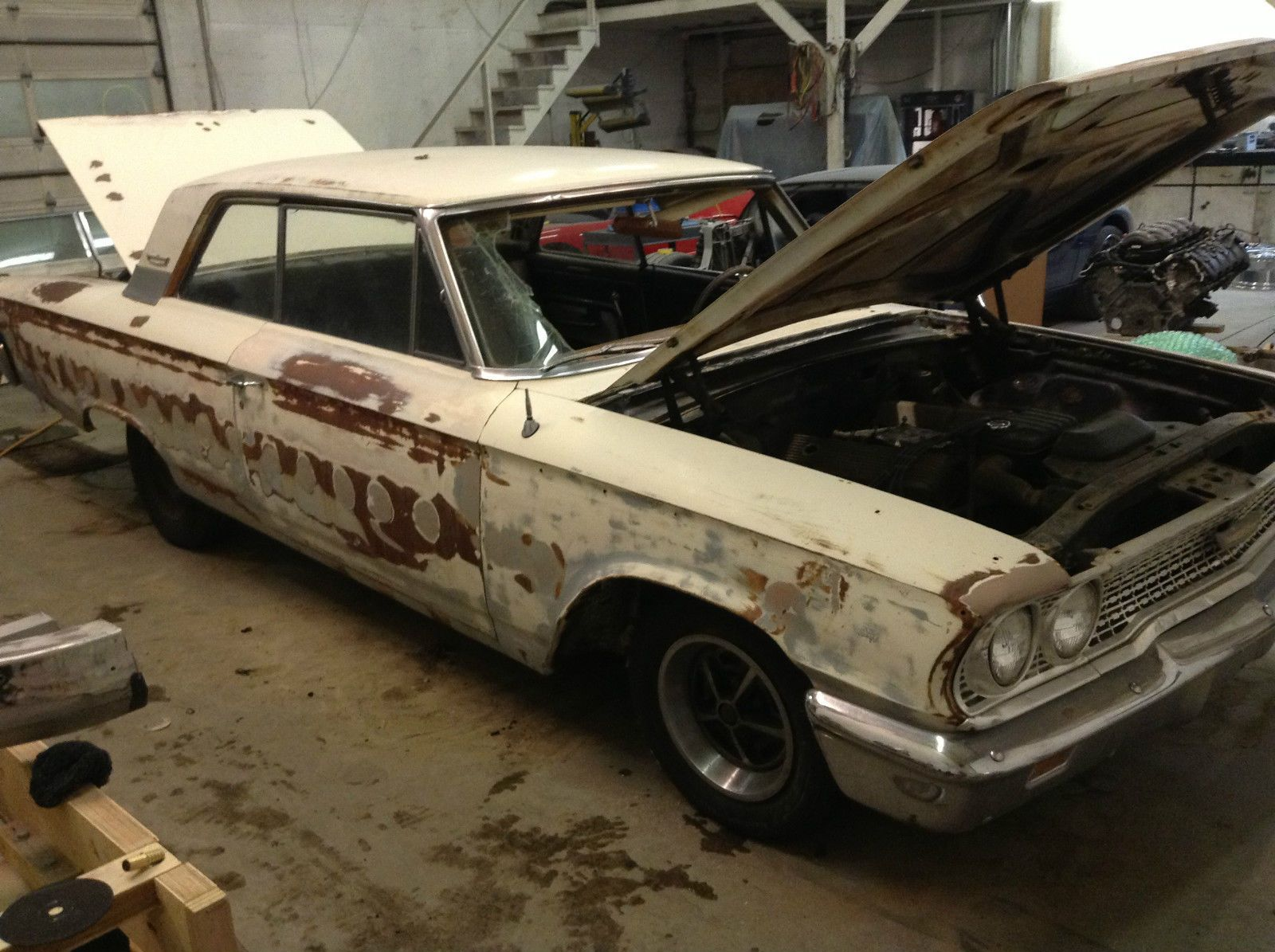 1963 Ford Galaxie 500 Project Car For Sale | Ford Galaxie ...