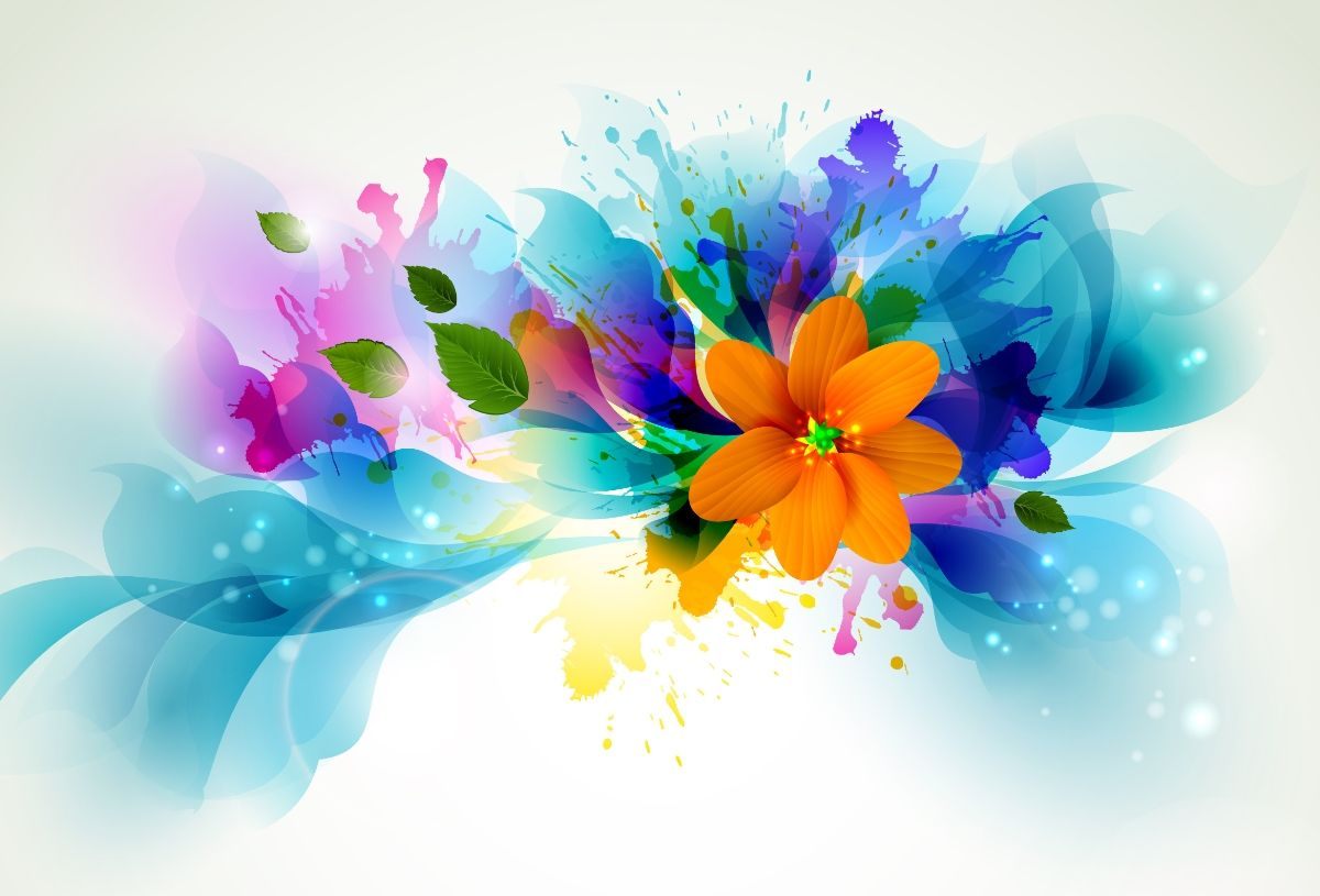 3d colorful graphics wallpaper, download this wallpaper for free in