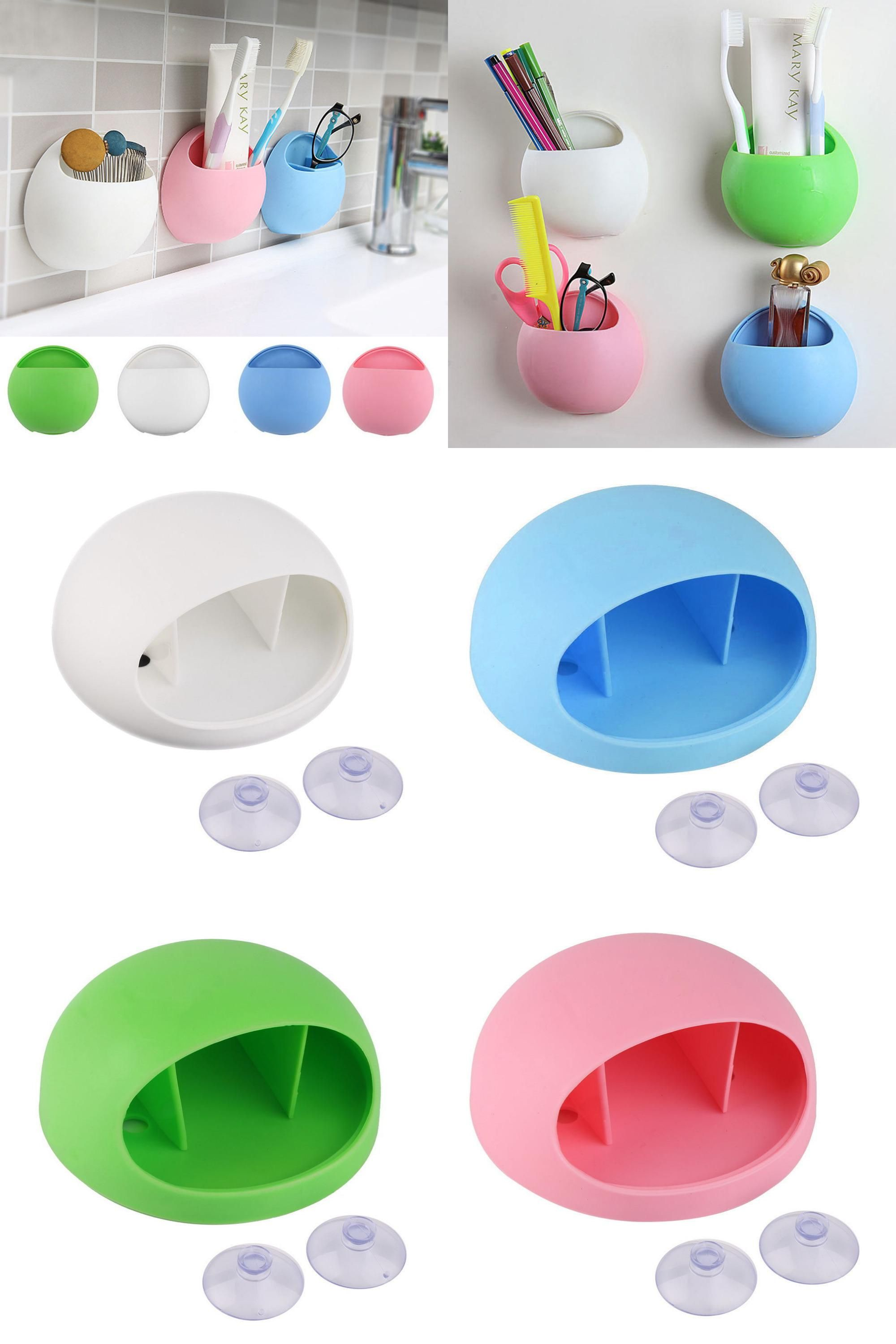 Visit To Buy Cute Eggs Design Toothbrush Holder Suction Hooks - Bathroom cup holders wall mount for bathroom decor ideas