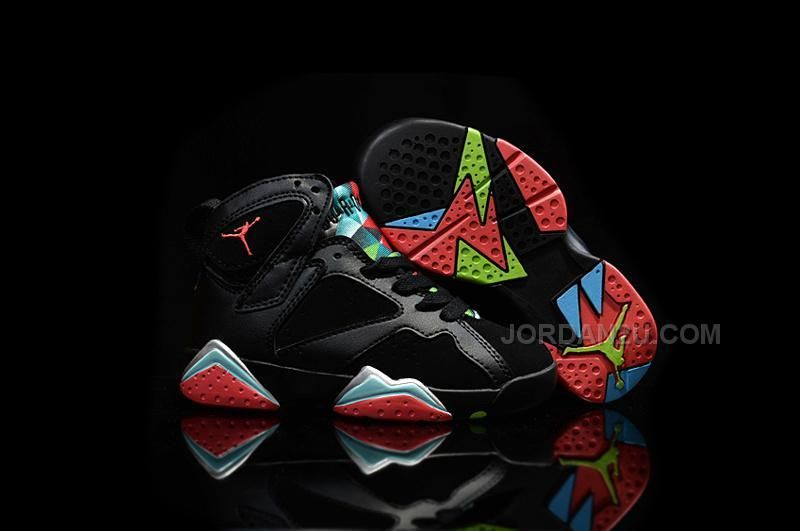 c0fe26f5d417 Nike Air Jordan 7 VII Retro 30th Barcelona Nights Black Blue ...