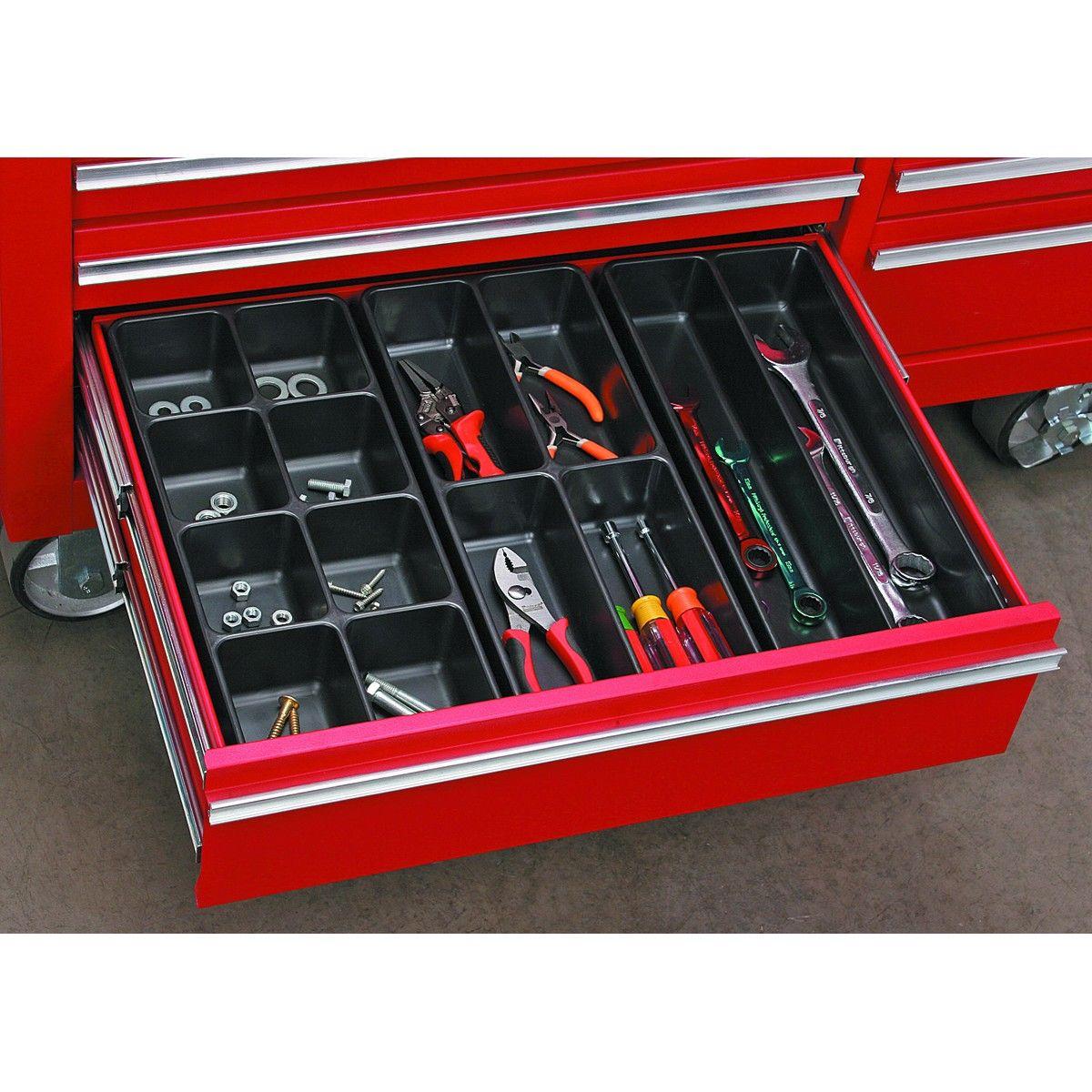3 Piece Drawer Organizer Set Tool Drawers Tool Drawer Organizer Garage Workshop Organization