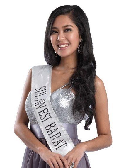 Maria Asteria Sastrayu Rahajeng crowned  Miss World Indonesia-2014