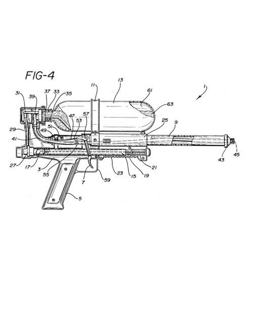 "The Super Soaker ~ Invented by NASA engineer Lonnie Johnson in 1982, and originally called the ""Power Drencher,"" this major upgrade to your average water gun hit stores in 1990. By the toy's 10th anniversary, more than 200 million guns had been sold, resulting in about $400 million in sales revenue"