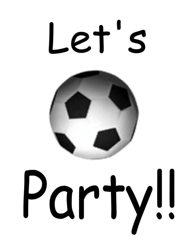 Throwing a Party? Make Your Own Invitations Soccer party, Party - free birthday card printable templates