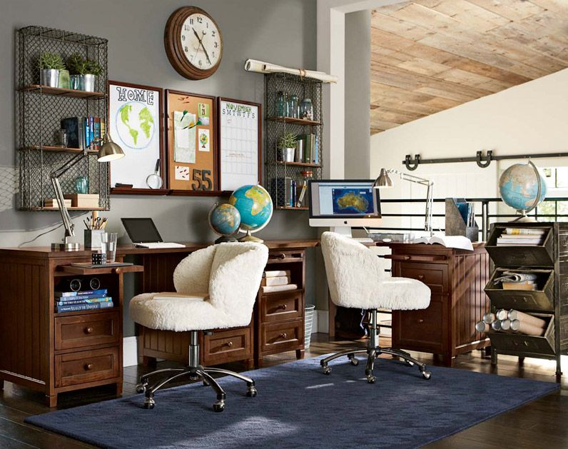 Study room decorating ideas shared space pbteen