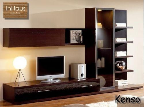 Mueble para television kenso plasma o lcd saltillo tv for Muebles para television de madera modernos