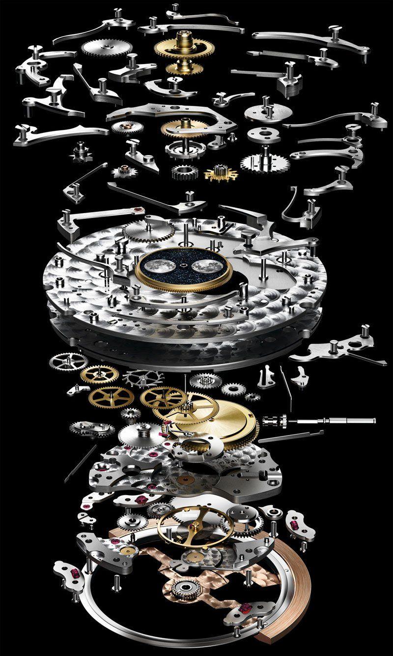 b30cb774c1a Luxury watchmaker Audemars Piguet explodes its Royal Oak Offshore Grande  Complication to show what s inside a million-dollar watch.