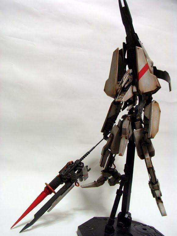Awesome Robo!: Custom 'Tsugumori' Brings Knights of Sidonia Mech To Life