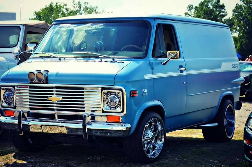 Pin by cagdesign on 70s Chevy Vans   Chevrolet trucks