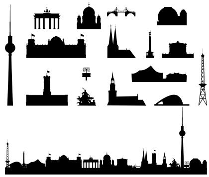 Pin Von Maggy Babyy Auf Inked Berlin Skyline Berlin Geschichte Zeichnung
