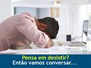 ✔ Pensa em desistir? Então vamos conversar...  A vontade de desistir das coisas, do trabalho, da rotina é comum e afeta todas as pessoas. Em ambientes estressantes, como os de TI, isso às vezes consome os pensamentos e drena qualquer tipo de proatividade em nossas carreiras e vidas. Pensa em desistir? #seliga ➡ http://cloudcoach.me/2pWw9L5  Autor: Rodrigo Pace Coluna: Transformando bits em sucesso  RodrigoPace é Coach Especialista em Profissionais de TI, Palestrante, Professor, Escritor e…