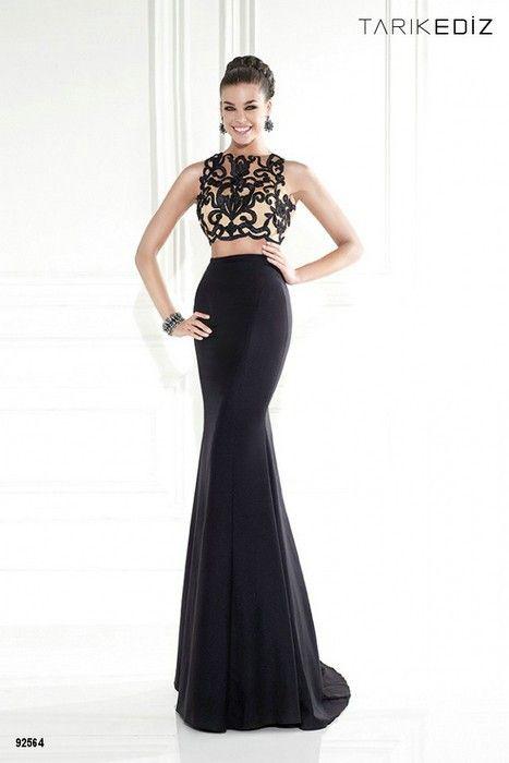 Iki Parcali Abiye Modelleri 25 Aksamustu Giysileri Aksam Elbiseleri The Dress
