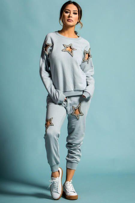 Bobii star cut out sweatsuit | Pinterest | Nähmuster, Mode zum ...