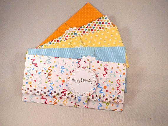 5 cash envelopes money envelopes personalized birthday party
