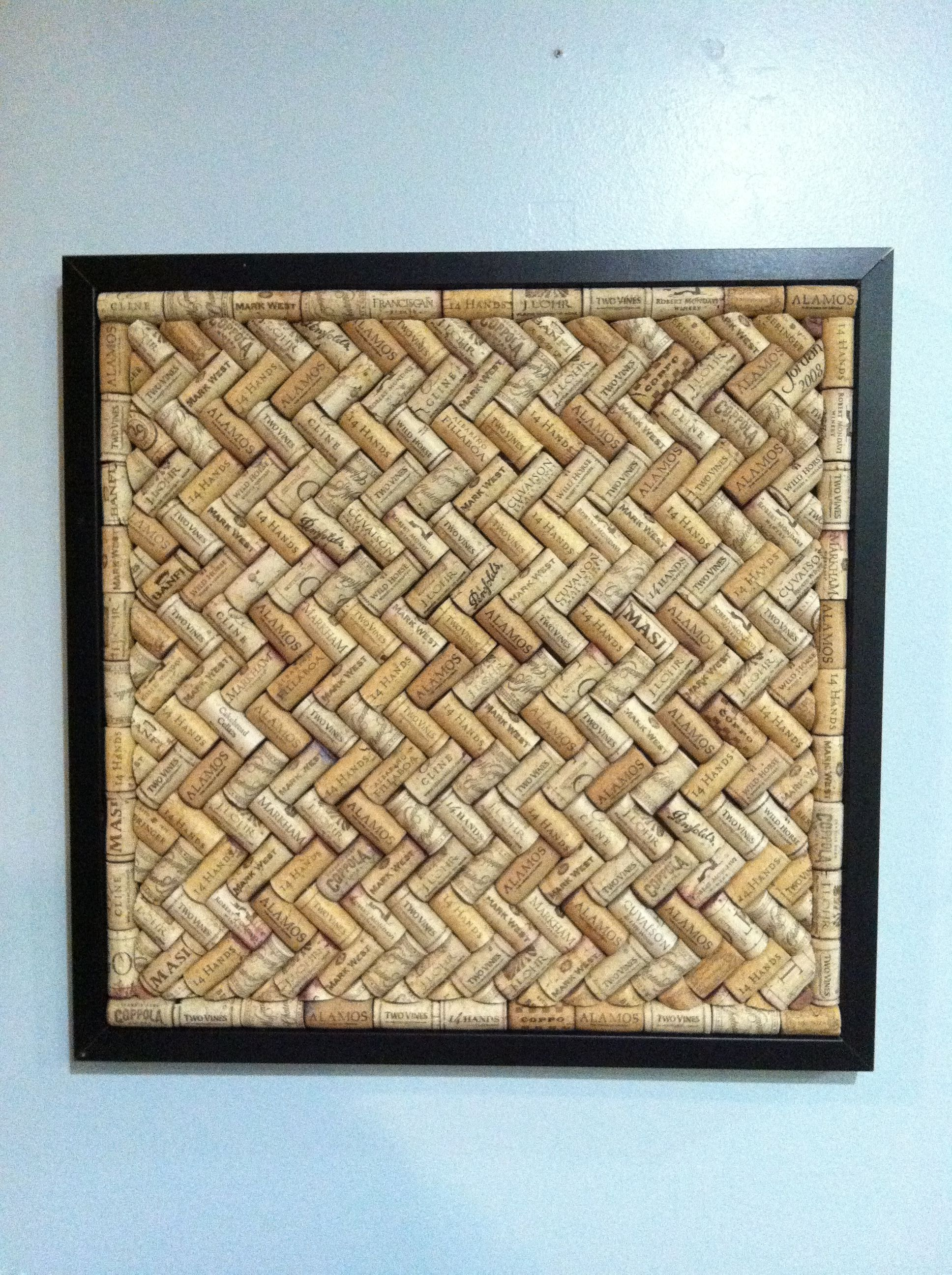 Uncategorized Cork Board No Frame wine cork board make one for the office with no frame put something behind