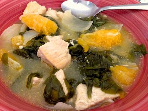 gameandcook.com - orange chicken and spinach soup :) very tasty and refreshing