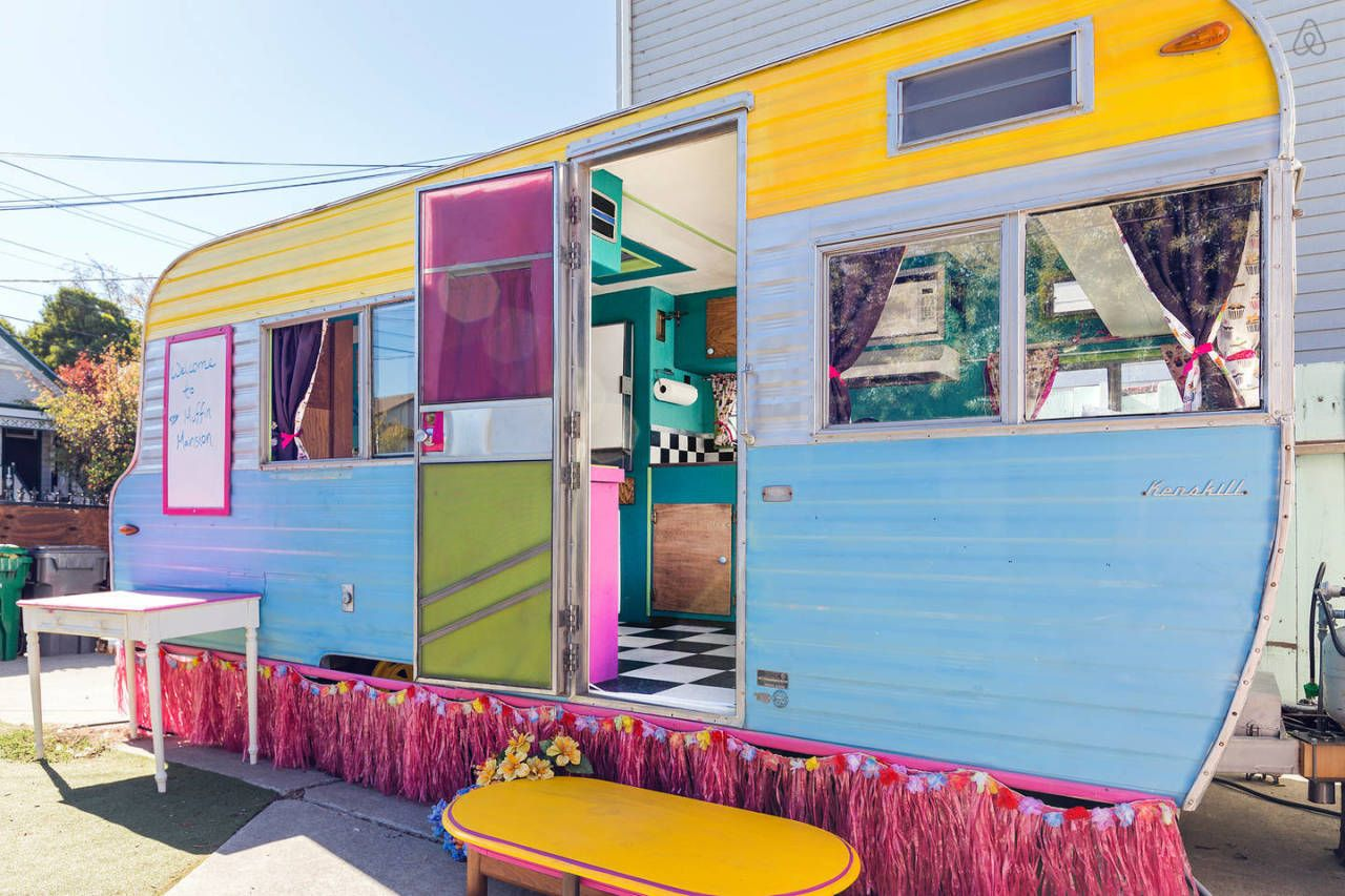 This Colorful Camper Will Put a Huge Smile on Your Face   - CountryLiving.com