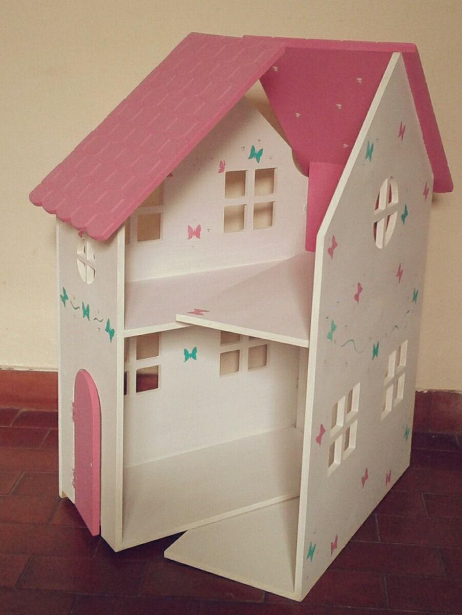 Resultado De Imagen Para La Casa De Barbie En Madera Casa  # Muebles Fibrofacil Para Casa Munecas