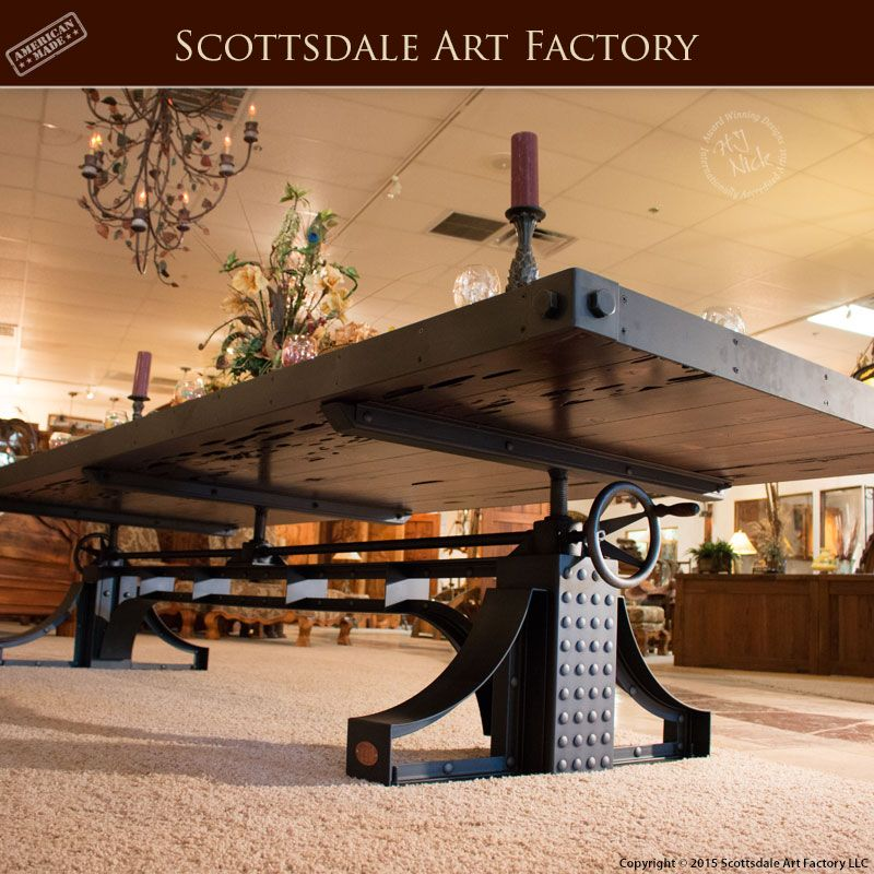 Handmade Dining Tables - Industrial Revolution Table - AIRT2015 ...